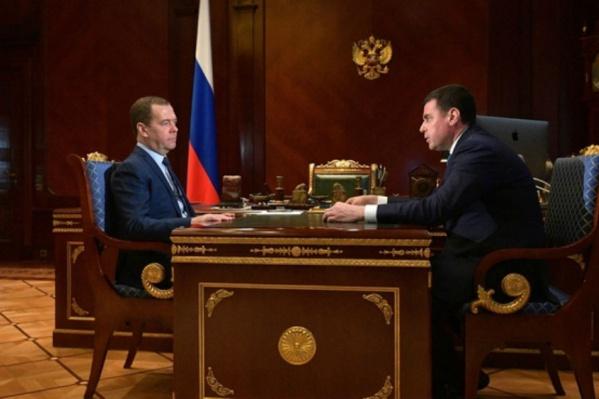Дмитрий Миронов отчитался Дмитрию Медведеву
