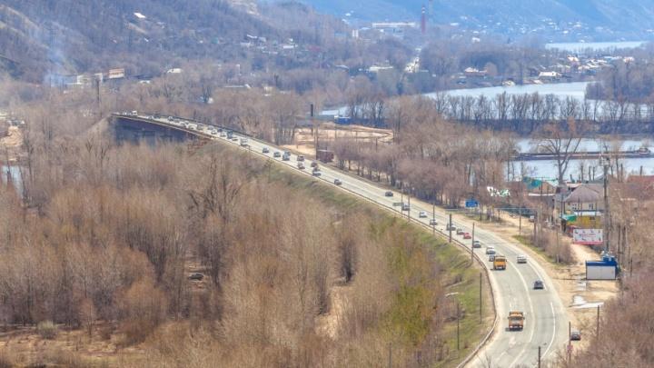Перед мостом через реку Сок в Самарской области установят пункт охраны