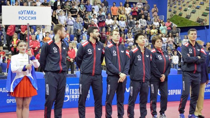 Теннисисты УГМК стали серебряными призерами Лиги европейских чемпионов