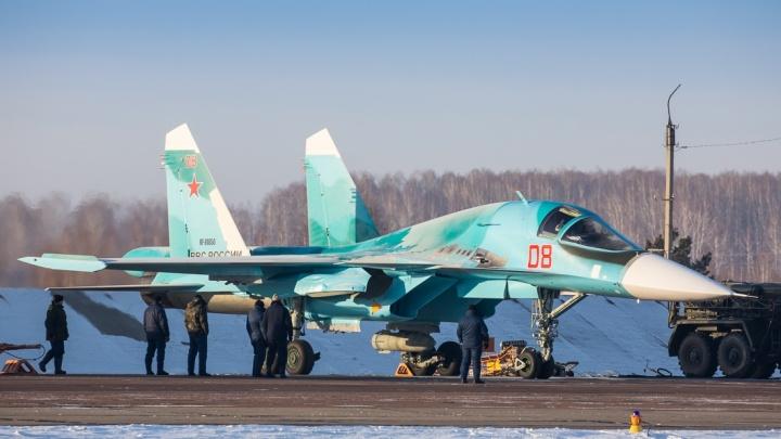 Над Челябинском пролетели истребители с бомбами весом в полтонны