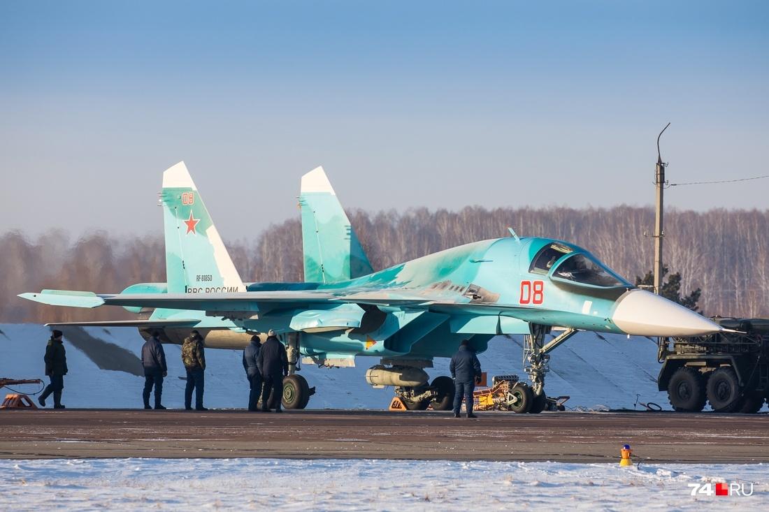 Су-34 называют «смертоносным утёнком»