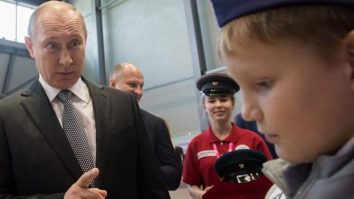 Перед президентскими выборами Владимир Путин приедет в Екатеринбург
