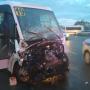 Водитель перевернувшейся в Челябинске маршрутки рассказал, как произошло ДТП