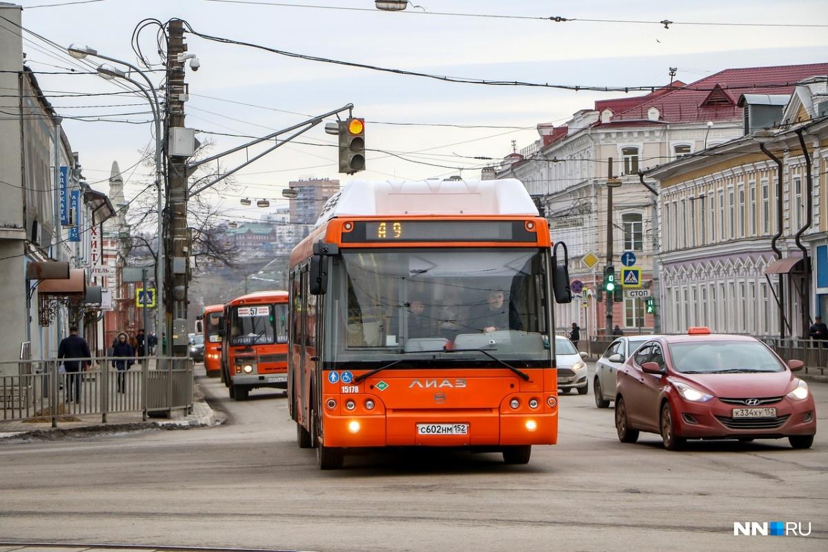 Новые автобусы уже вышли в рейсы
