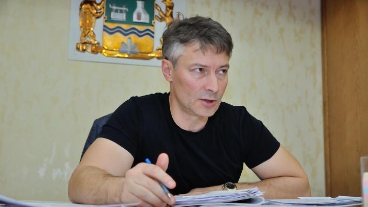 Евгений Ройзман выйдет на митинг против отмены выборов мэра