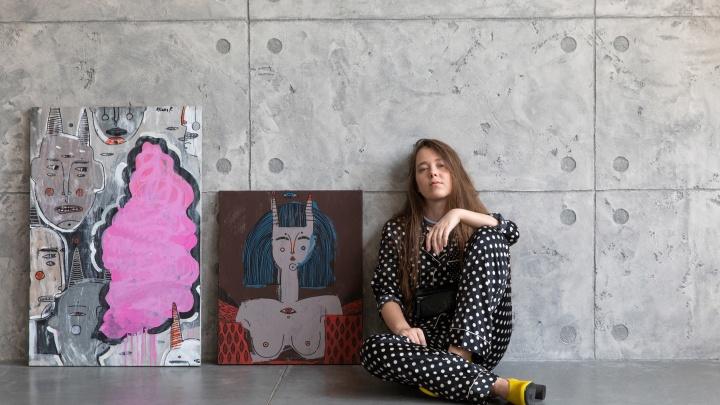 Ростовскую художницу Ульяну Пучеглазову выбрали для участия в Ярмарке современного искусства
