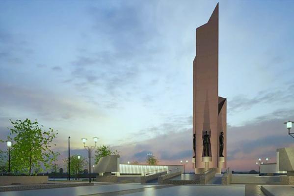 Памятник появился в Омске накануне 40-летия Победы в 1985 году