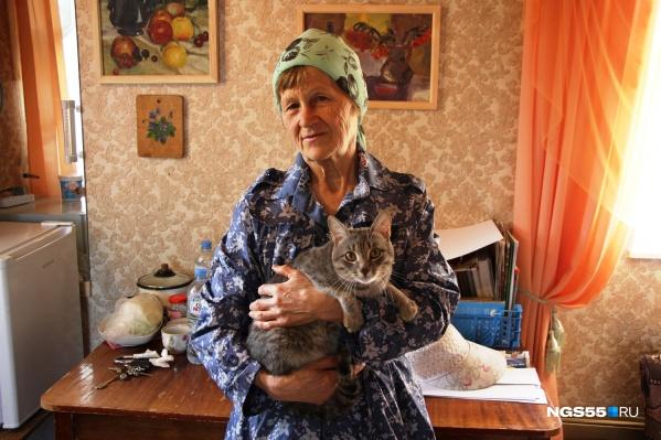 Лидия Белобородова часто проводит время в своём дачном домике
