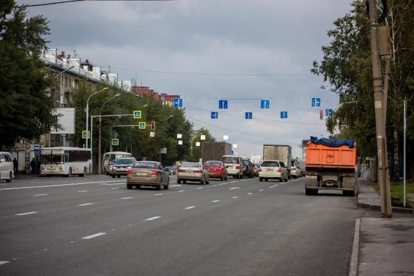 Мэр особо отметил отремонтированную улицу Немировича-Данченко