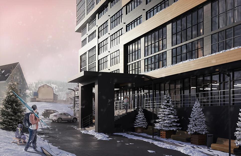 Цокольный, первый и последний этажи дома займут сервис-проекты AYS Group для жителей