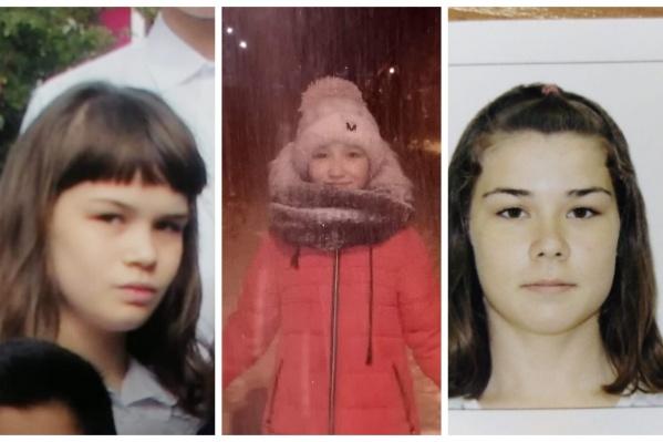 Все три девочки учатся в одной школе