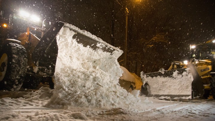 Осторожно, работает техника: какие дворы в Уфе расчистят от снега 4 января