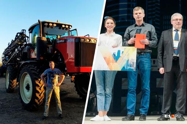 В прошлом году Максим с командой выиграл грант в 8 миллионов рублей