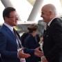«Этого даже не ожидал»: президент FIFA посетил матч на «Самара Арене»