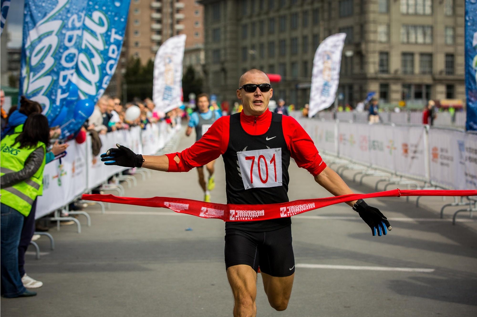 Победитель на дистанции 3,6 км