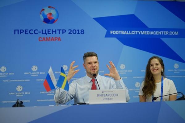 Стефан Ингварссон удивлен высокими результатами сборных России и Швеции