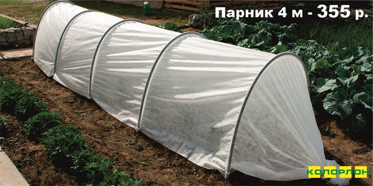 Дачный сезон стартовал: в «Колорлоне» появились парники за 355 рублей