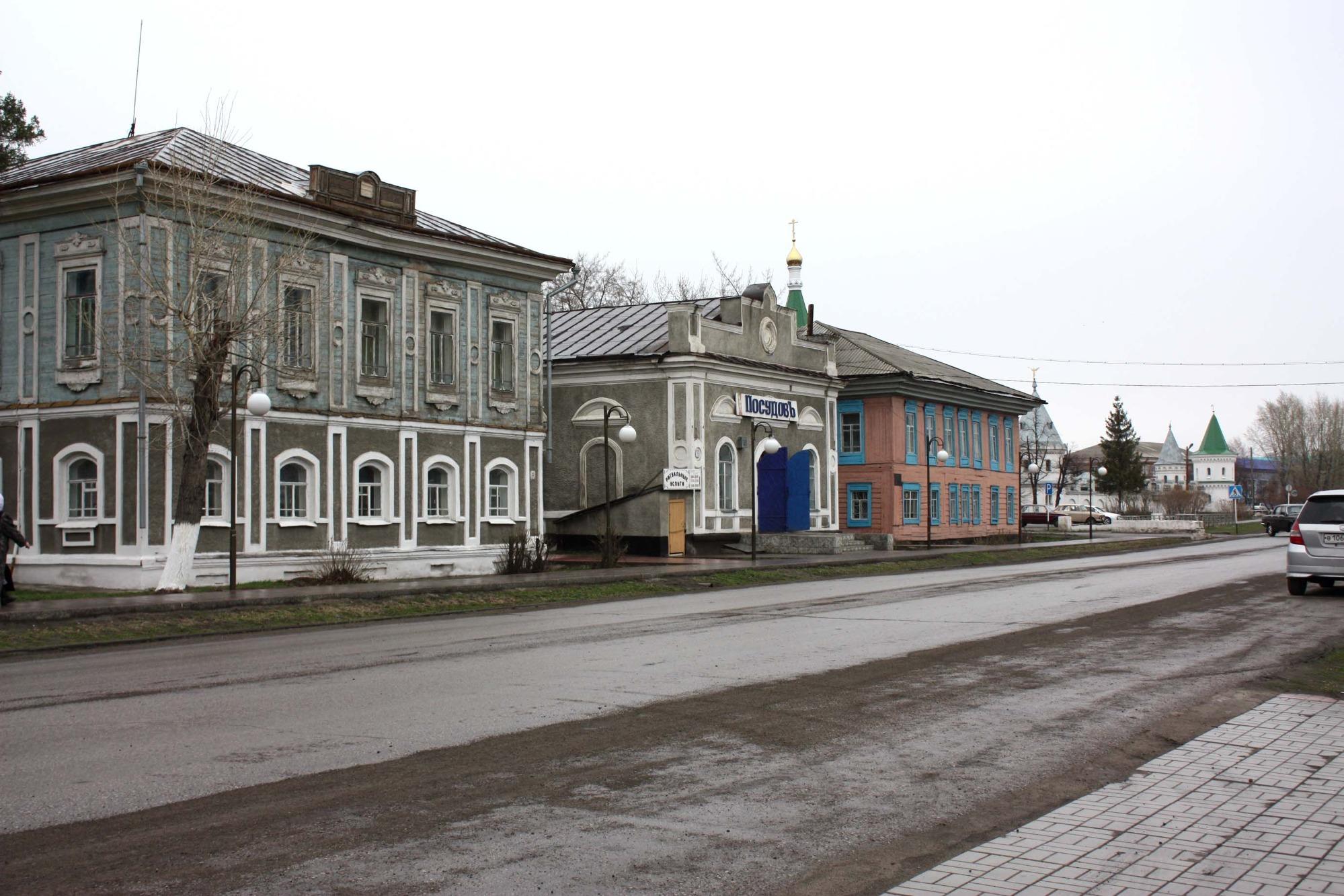 Жемчужина Венгерово — «купеческий центр»: здания, принадлежавшие купцам, построенные в 60-х – начале 70-х годов XIX века