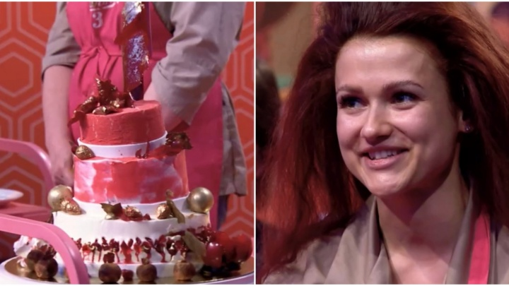 В суперфинале шоу «Кондитер» наставник разбил битой торт тюменки. Смотрим выпуск
