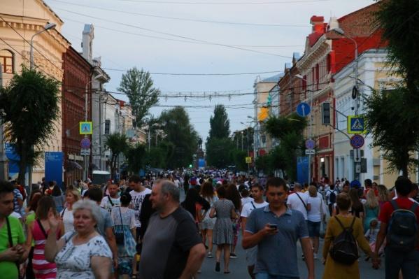 Куйбышева будет пешеходной по выходным до конца лета