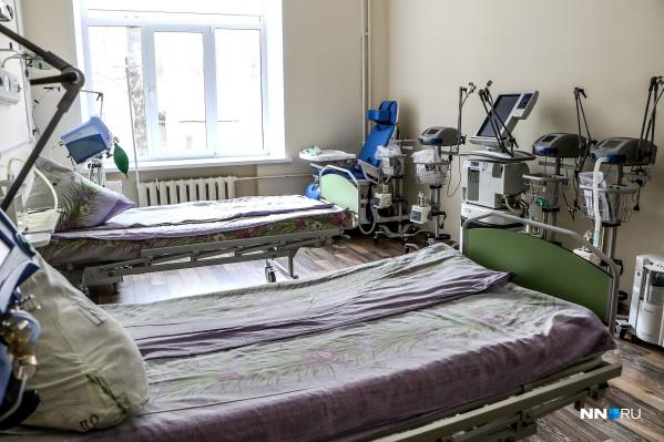 По закону мы не имеем права снимать пациентов, но можем показать в каких условиях они лежат в этом отделении