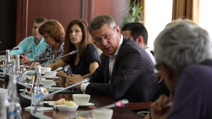 Радий Хабиров — главредам уфимских СМИ: «Вы со мной особо тоже не церемоньтесь»