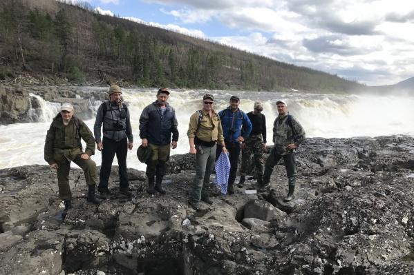 Конечной точкой путешествия стал Большой Курейский водопад