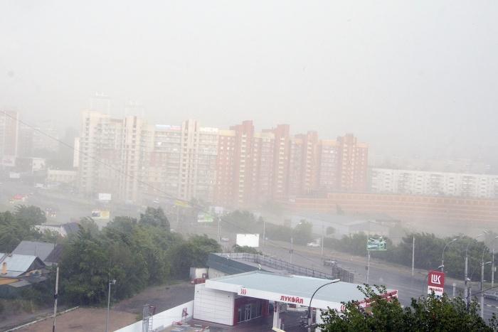 Из-за тумана происходят десятки аварий