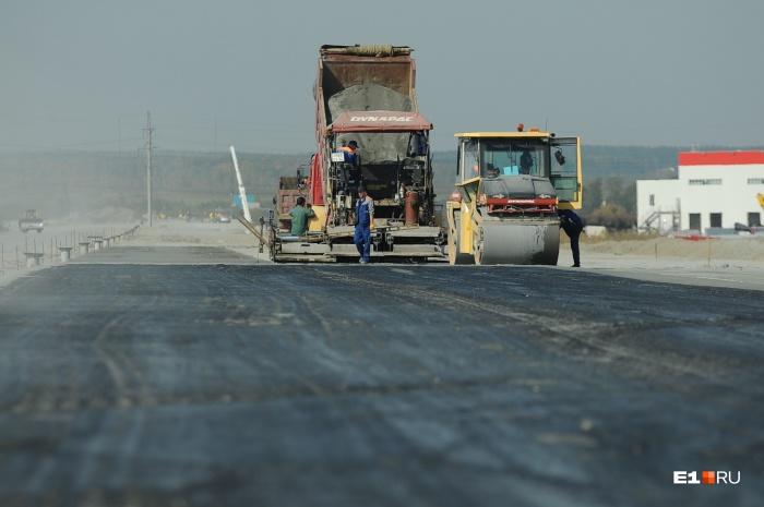 Дорожные работы на трассе будут проводиться поэтапно и закончатся в конце лета