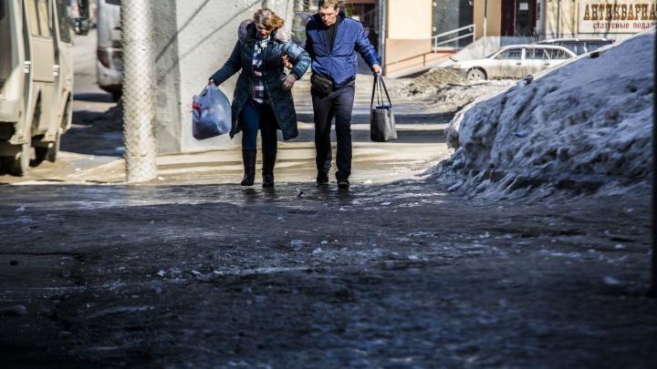 Прокуроры заставили мэрию убрать лёд с дорог после публикации НГС