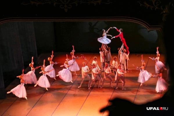 В финале зрители наслаждались вальсом цветов из «Щелкунчика»