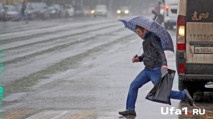 От потепления к дождям: на Башкирию идут грозы