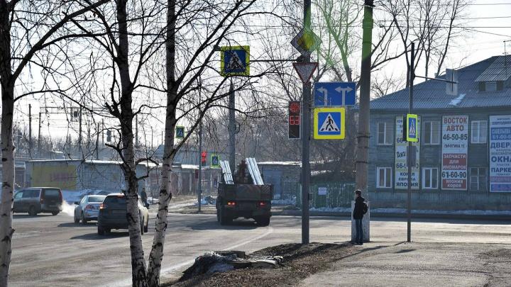В районе остановки «КСМ» в Кургане обустроят регулируемый пешеходный переход через улицу Куйбышева