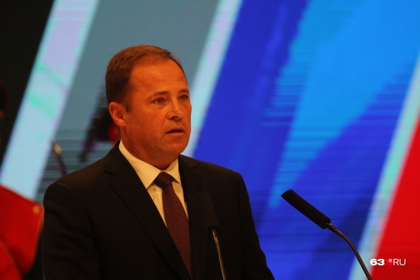 Игорь Комаров участвовал в церемонии инаугурации Дмитрия Азарова