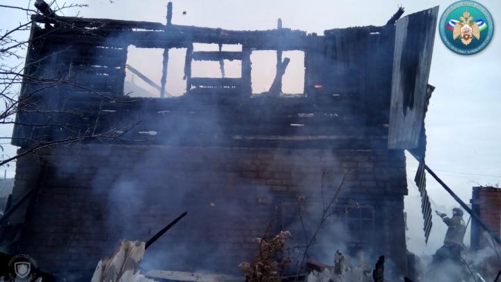 Стали известны подробности гибели на пожаре в Башкирии 8-летней девочки
