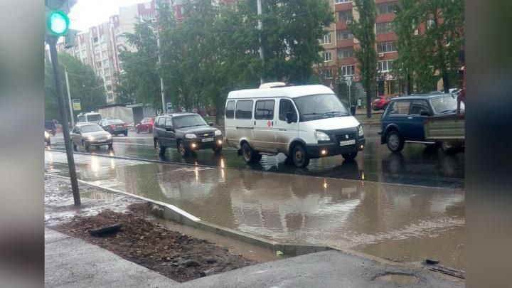 Дожди опять затопили уфимское Сипайлово