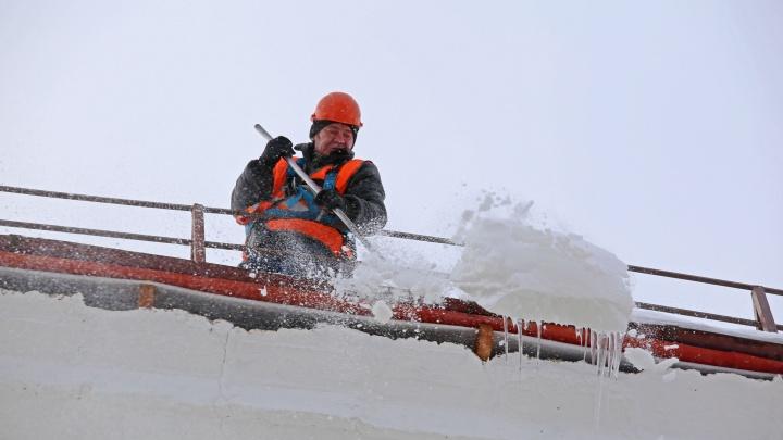 Как снег на голову: рассказываем, где в Уфе убегать от сосулек
