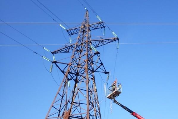 Жители Лысьвы остались без света и воды из-за аварии на линиях электропередачи
