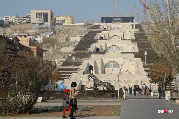 Такая красота затмевает отсутствие моря в Армении