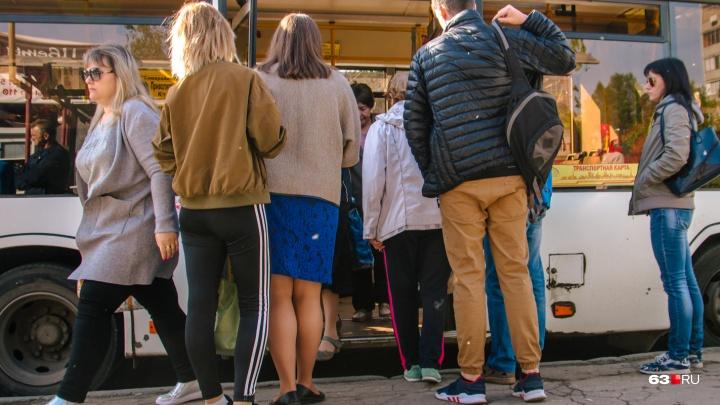 «Не можем влезть»: самарцам пообещали обновить автобусный парк