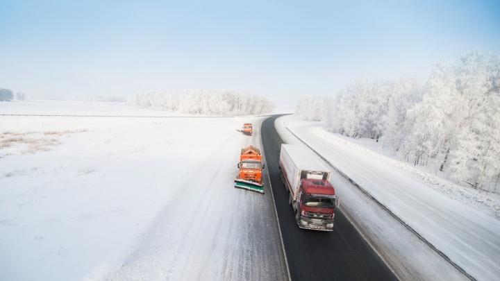 «Мужики, помогите»: автобус с пассажирами сломался на холодной ночной трассе