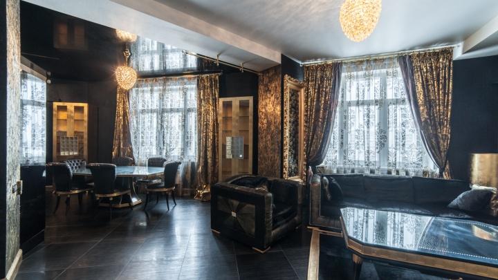 «Сдержанная роскошь»: в доме, где живет губернатор, на продажу выставили «черную» квартиру