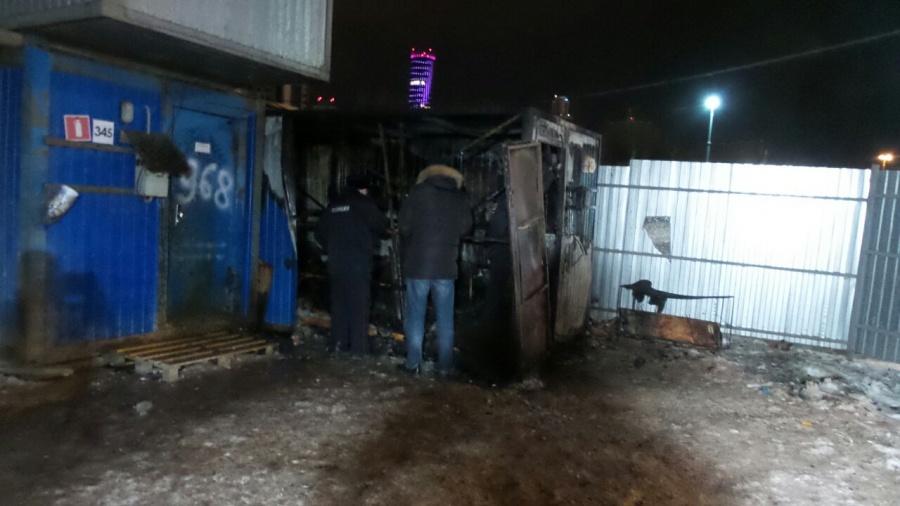 Один человек умер впожаре вквартире насевере столицы