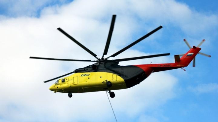В крушении вертолёта в Красноярском крае погибли вахтовики из Башкирии