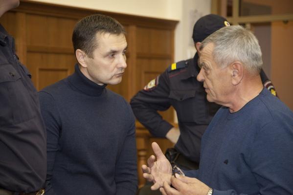 По версии следствия, организовать нападение на партнёра Константину Андрееву (на фото слева) помогал знакомый