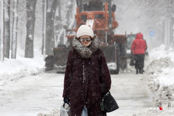 Зима пока не собирается сдаваться