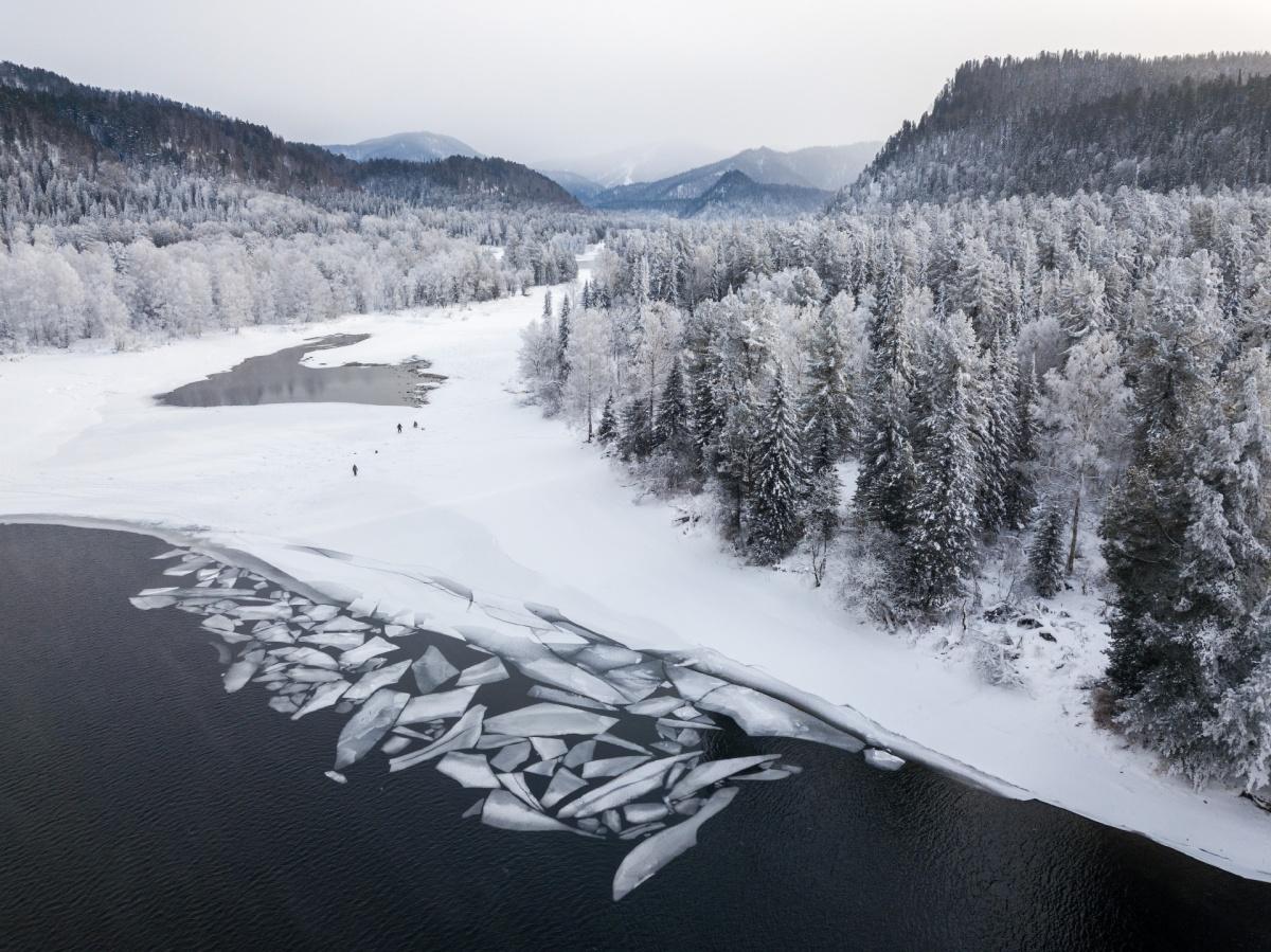 Фотограф снимал в районе Телецкого озера