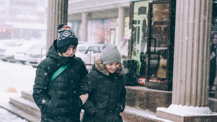 Морозы в Тюмени отступают: учащиеся второй смены идут сегодня на уроки