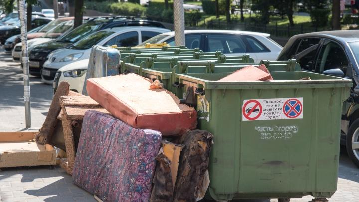 В Новочеркасске мусоровоз переехал пожилую женщину