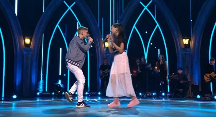 Екатеринбуржец спел в дуэте с 14-летней Руфиной Бауровой